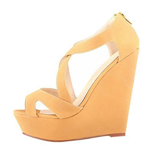7dc3037c54218 Pin by vee Encarnacion on fashion | Shoes heels, Wedge wedding shoes ...