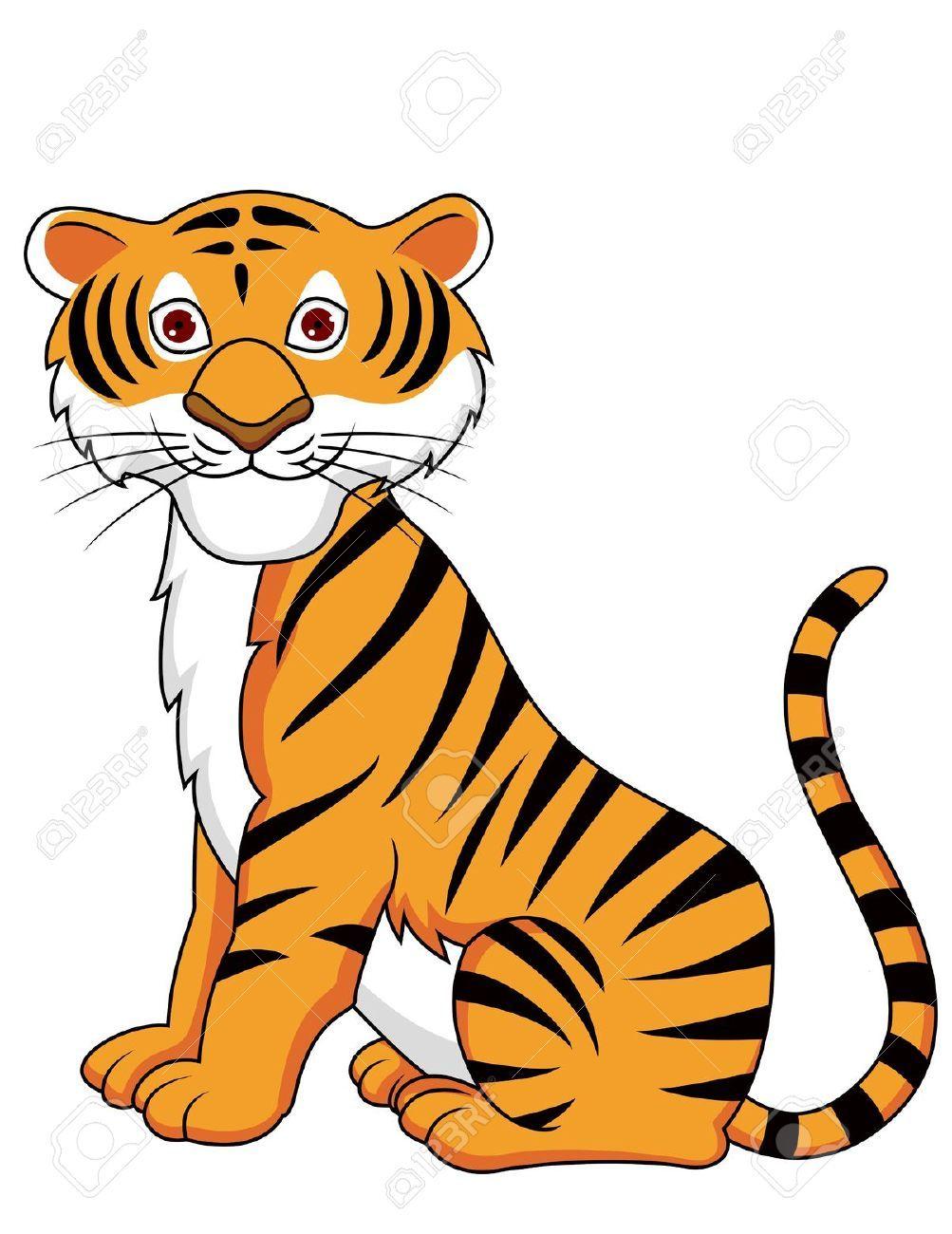 13446433 Tigre De Dibujos Animados Foto De Archivo Jpg 1 003 1 300 Pixeles Dibujo De Animales Dibujos Dibujo Tigre