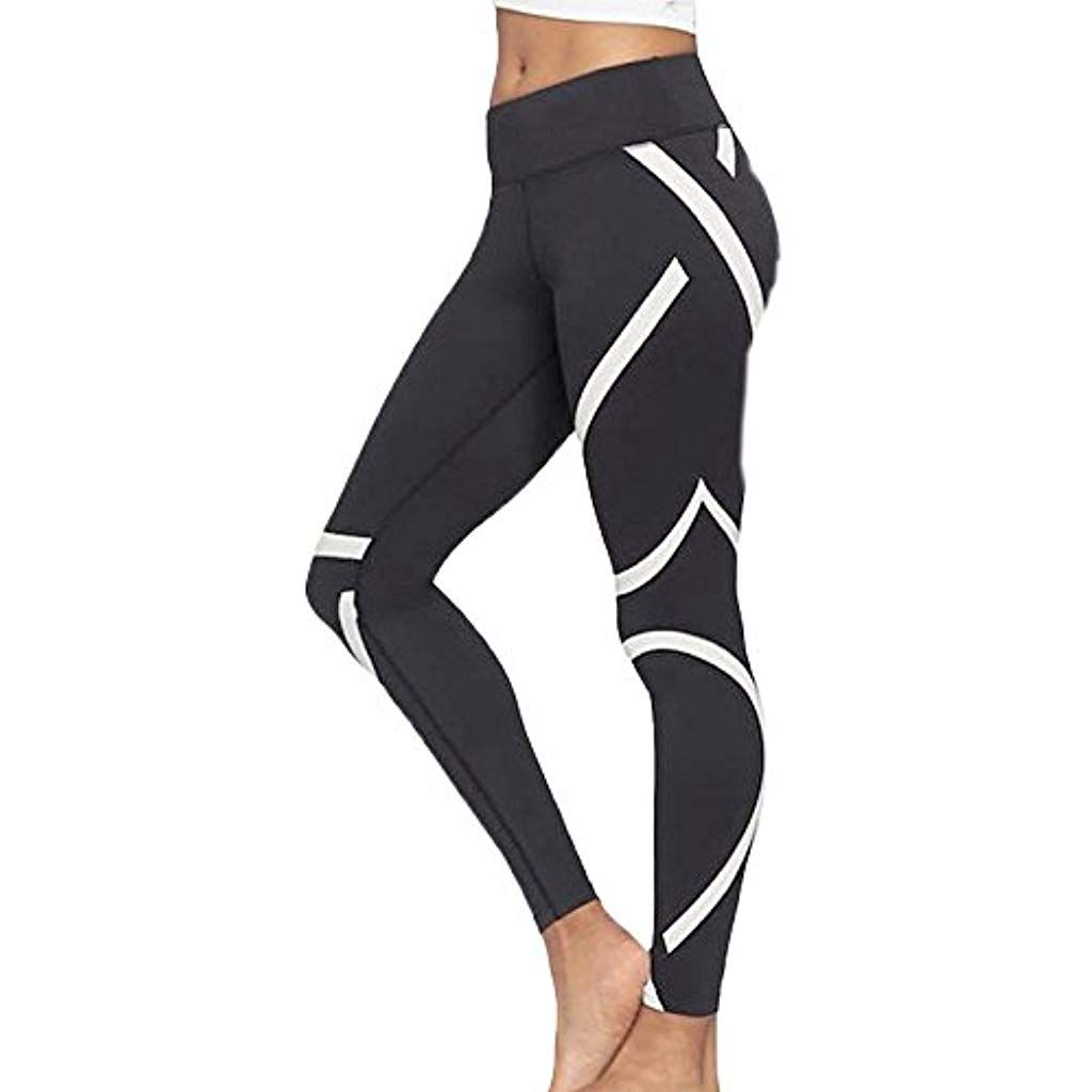 4ee973707bdf BaZhaHei Mallas Deportivas Mujer Leggins Yoga Pantalon Elastico ...