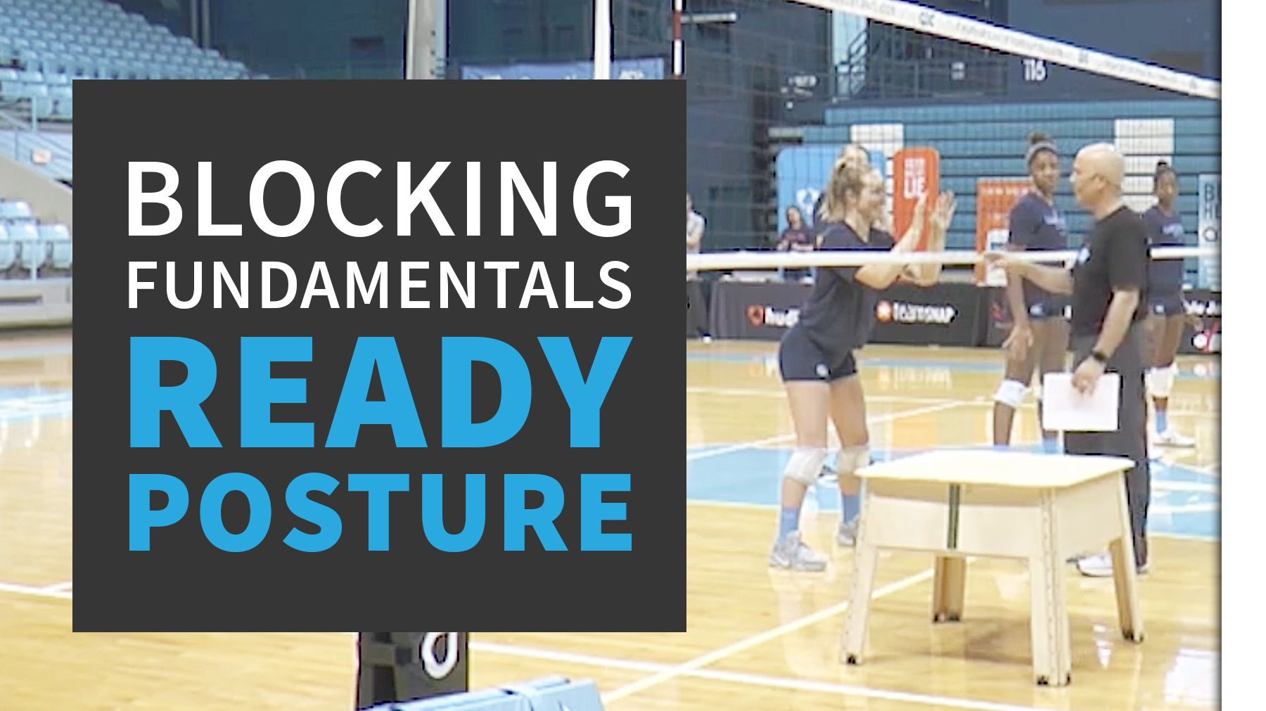 Blocking Fundamentals Ready Posture The Art Of Coaching Volleyball Coaching Volleyball Volleyball Skills Volleyball Practice