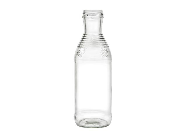 Glass Bottles 14 Oz Beverage Style Round With A 38mm 3 Lug