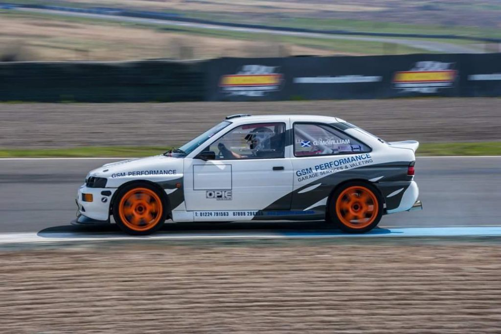 This escort rs cosworth track car big spec is for sale. | Fast Fords ...