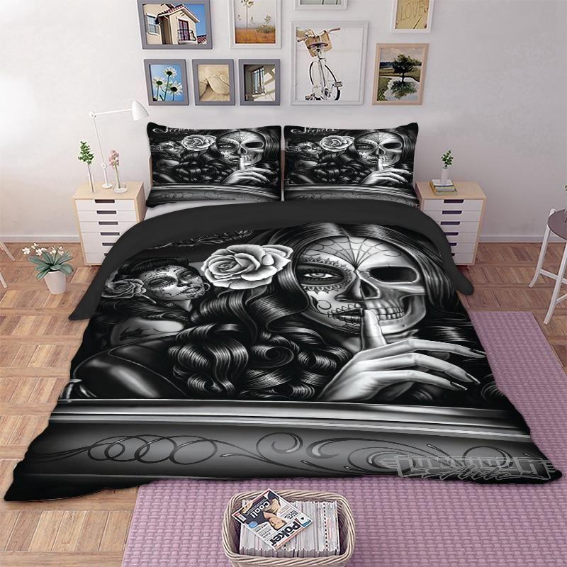 Gothic Duvet Cover Bedding Set Bed duvet covers, Duvet