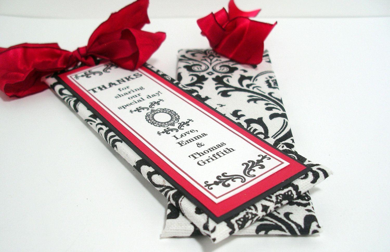 Handmade Wedding Bookmarker Favors | I do | Pinterest | Handmade ...