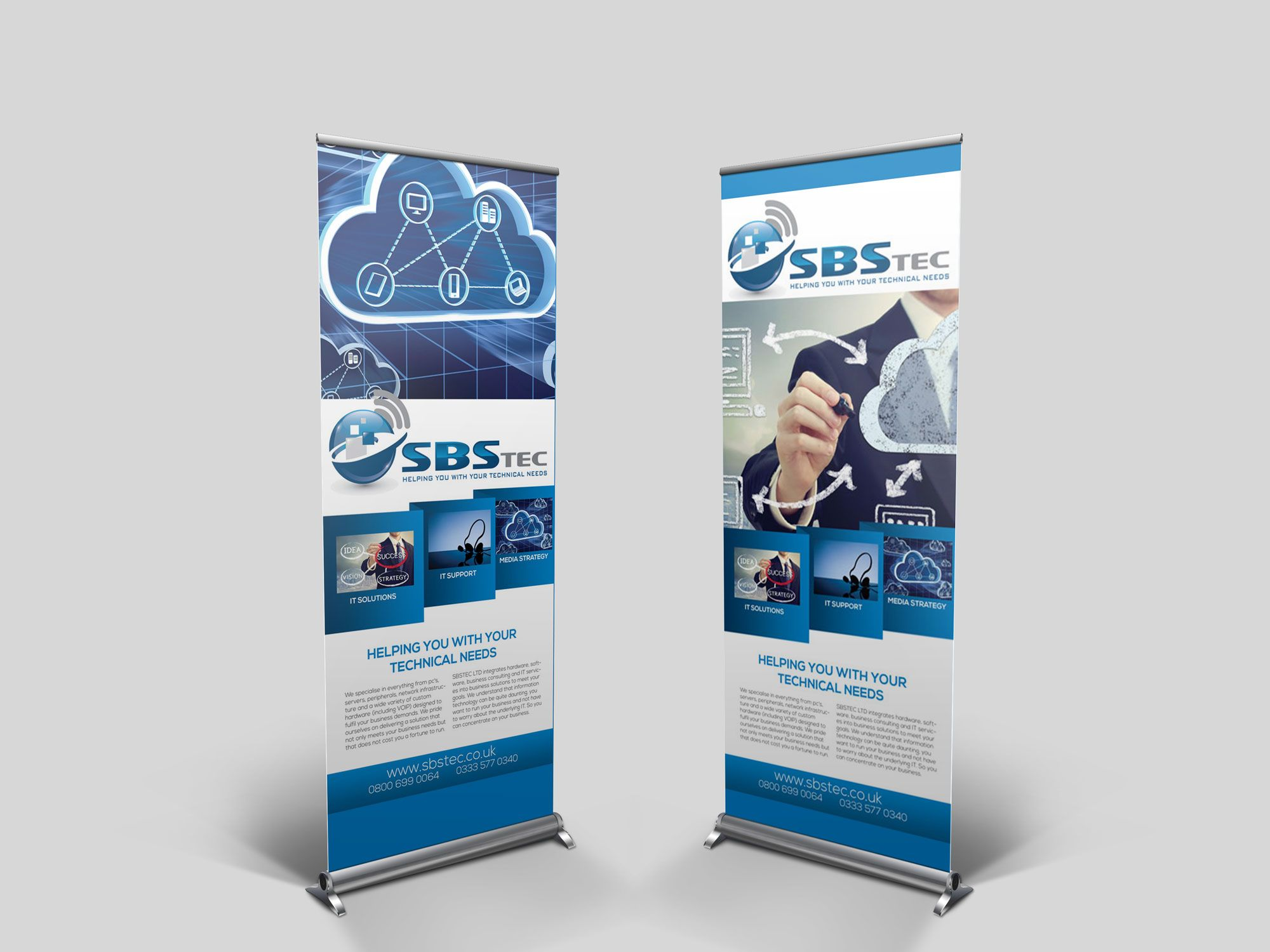 Roller Banner Pop up Banner Print and Design Manchester » FlyKick ...