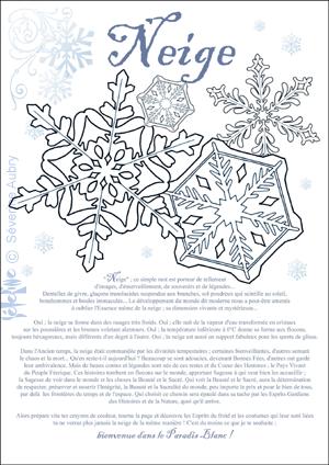 "iColor ""Snowflakes"""
