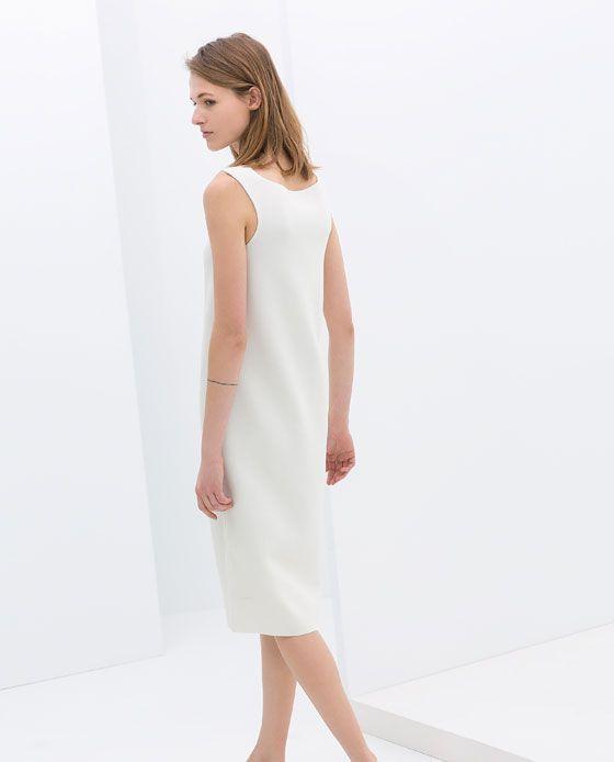 ZARA - SALE - SLEEVELESS SHIFT DRESS