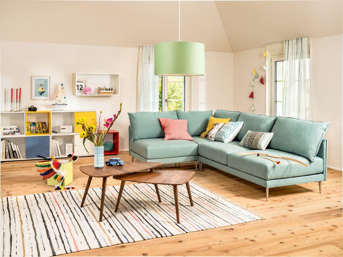 Mini Wohnzimmer ~ Micasa wohnzimmer mit salontisch singer und regalkombination linus