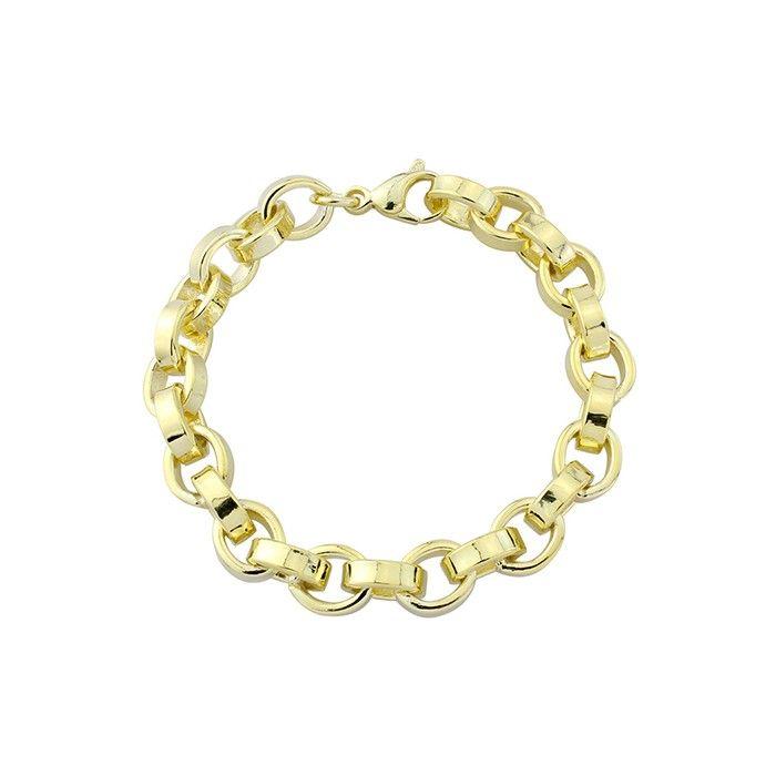 Vermeil Silver Endless Paper Chain Bracelet by Mark Milton