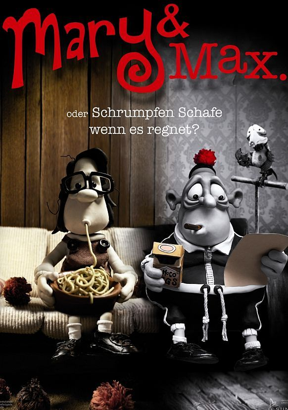 Mary And Max 2009 Mary And Max Filmes Posteres De Filmes