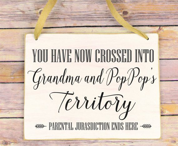 christmas gift for grandparents funny sign for by signsolife - Christmas Presents For Grandparents