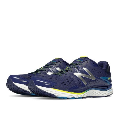 New Balance 880v6 Men s Distance Shoes - Black Blue (M880BB6 ... a88c8694729c4