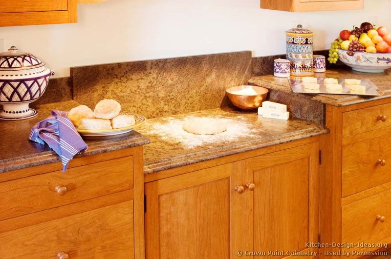 Staggered Height Countertops (Crown Point.com, Kitchen Design Ideas.