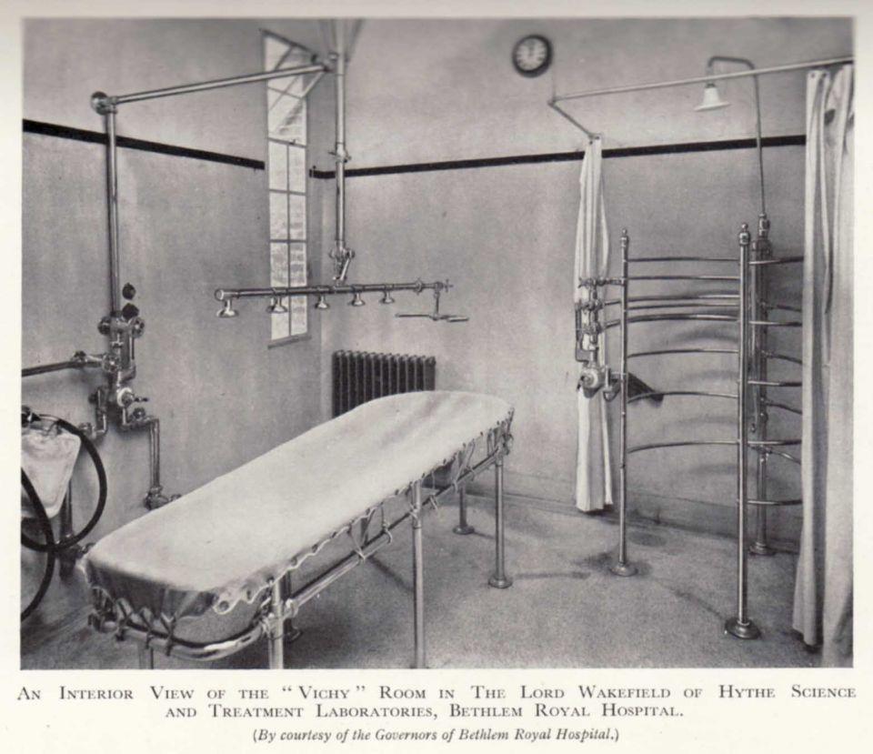vichy room bethlem.jpg (960×829) | Asylums & Patients | Pinterest