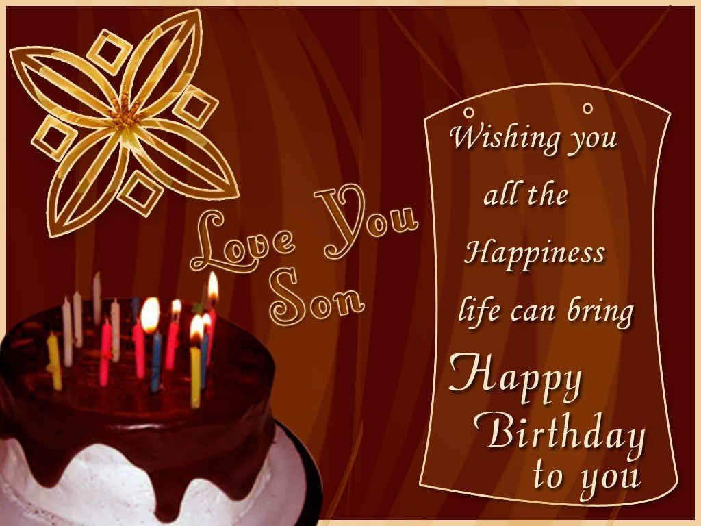 Birthday Cards For Son Happy Birthday Wishes For Son Birthday Wishes For Son Birthday Cards For Son 50th Birthday Wishes