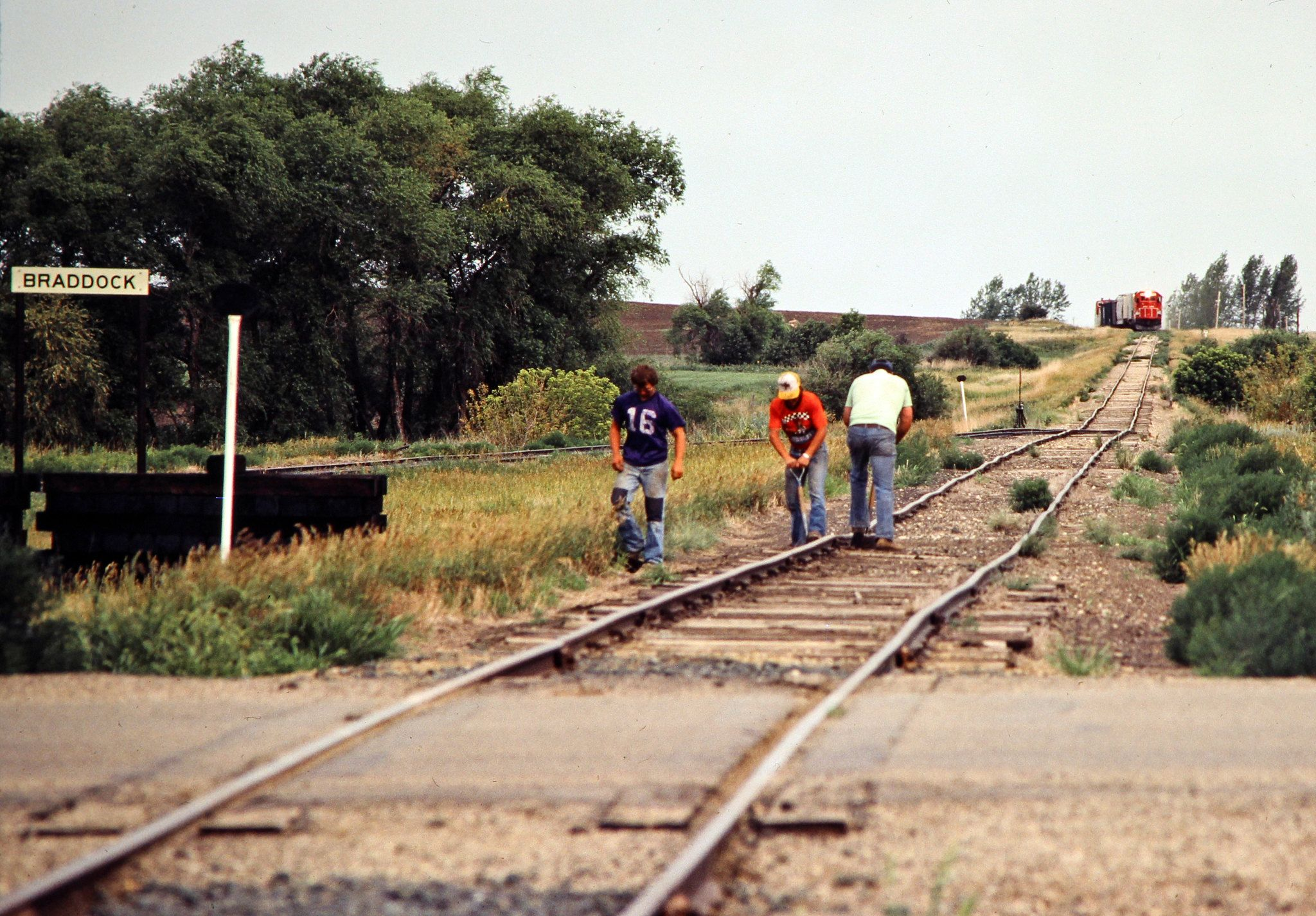 Soo Braddock North Dakota Eastbound Soo Line