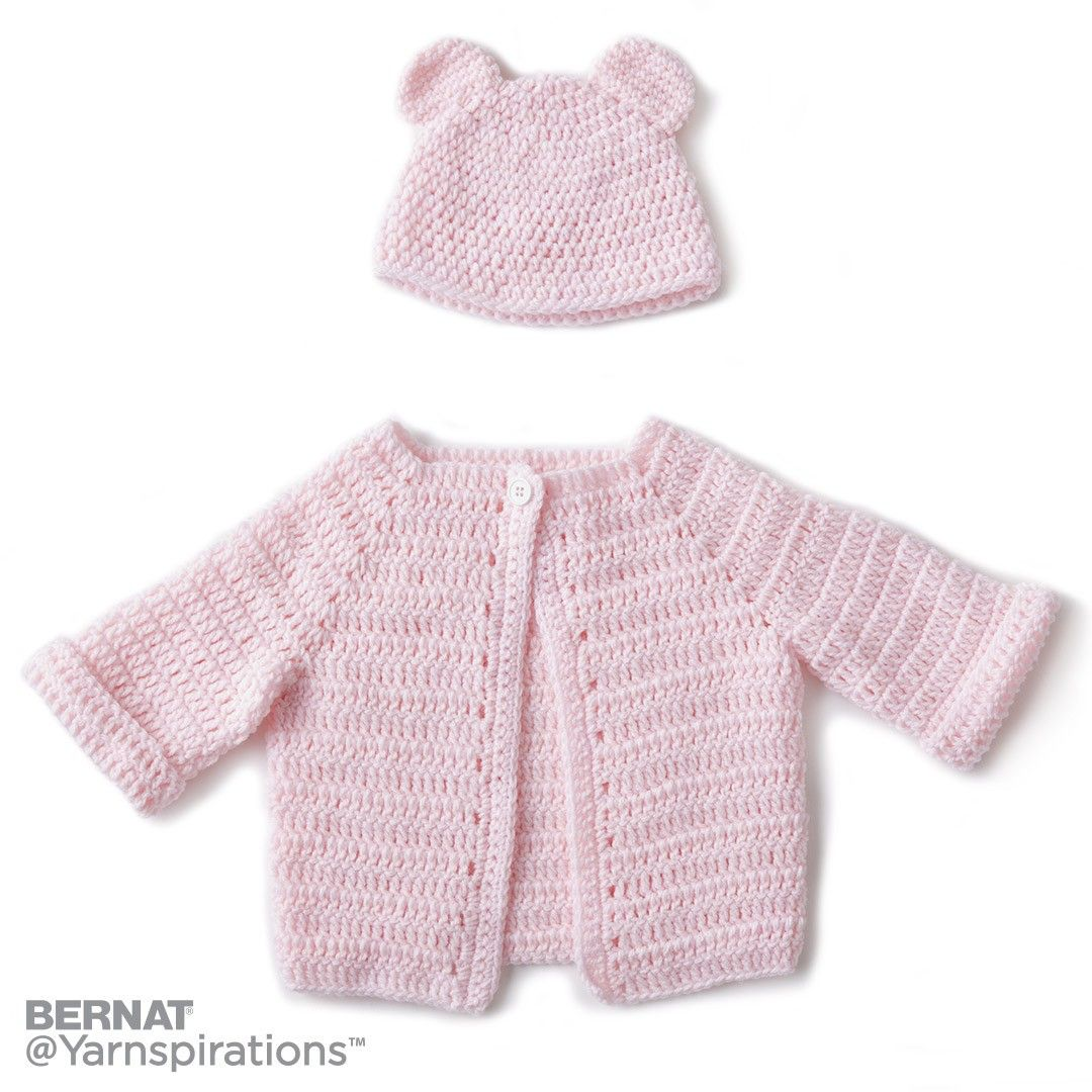 Crochet Baby Jacket Set | Crochet | Charity | Let\'s Make a ...