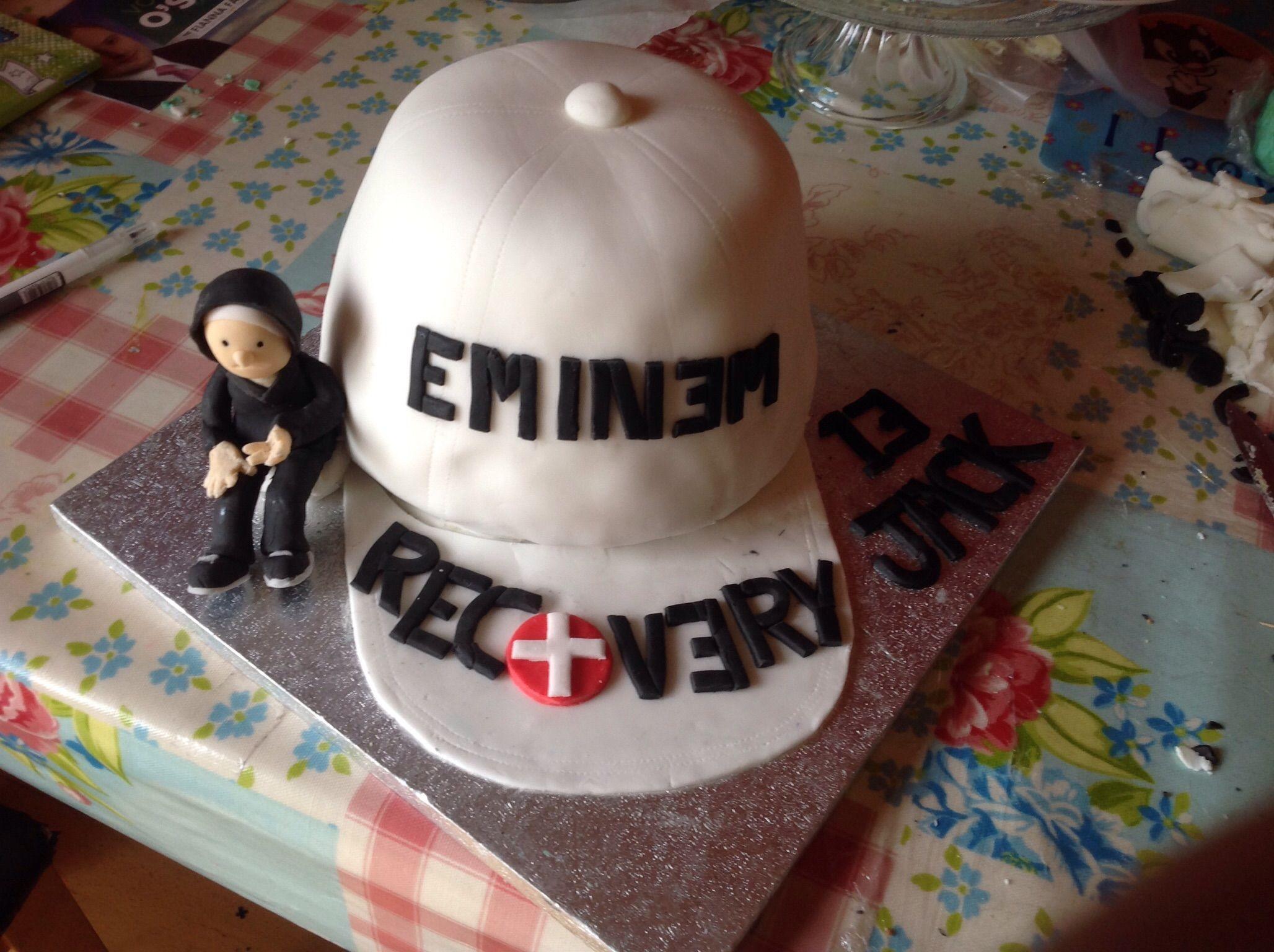 Awesome Eminem Cake Eminem Birthday Nigella Cakes Cake Funny Birthday Cards Online Bapapcheapnameinfo