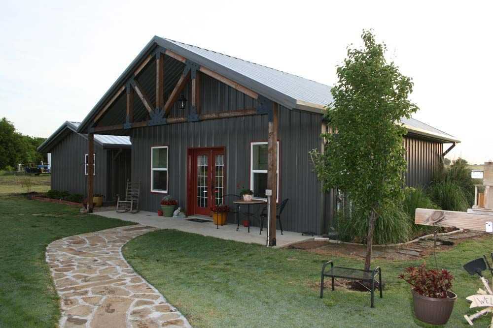 Steel Roofed Structure Need Recommendation Metal Building Homes Steel Building Homes Barn House Plans