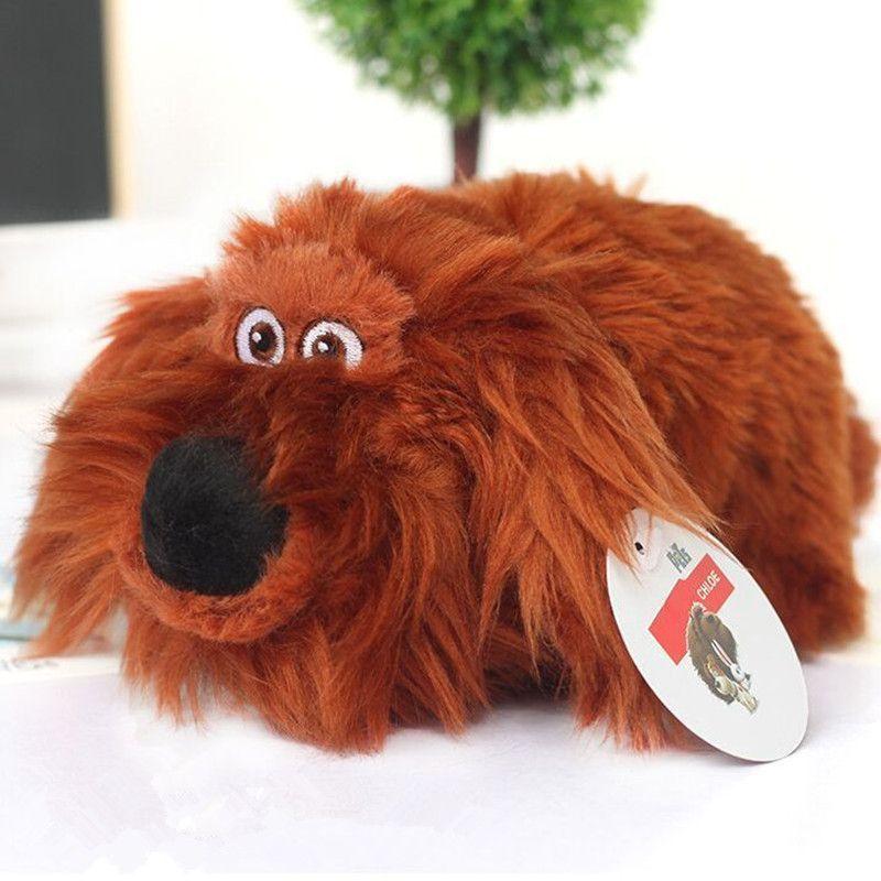 12 25 Cm Pets Plush Toys Max Snowball Gidget Mel Chloe Buddy Duke