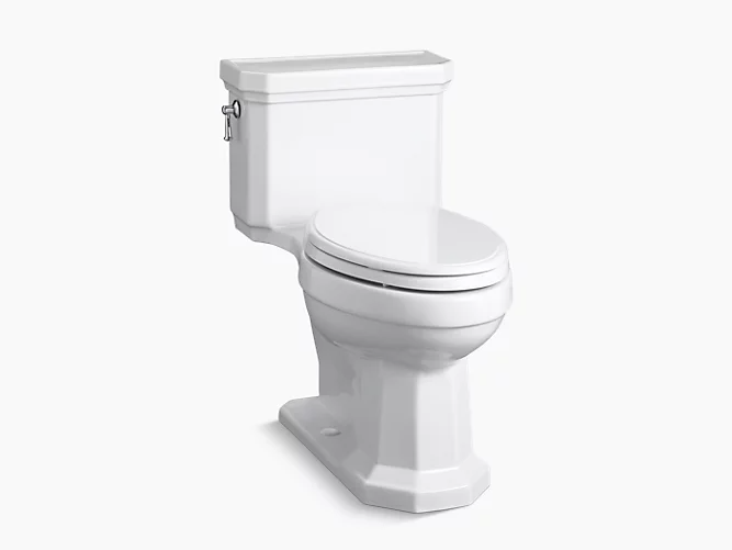 K 3940 Kathryn Comfort Height Elongated One Piece 1 28 Gpf Toilet With Concealed Trapway Kohler In 2021 One Piece Toilets Kohler Toilet Kohler