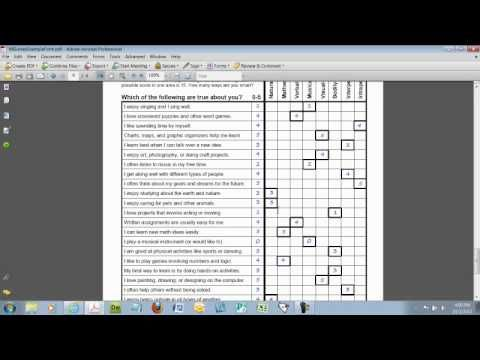 Free Multiple Intelligences Survey for Kids and short video walk through - Watch the video to learn how to use the survey in your classroom to help your students identify their learning strengths