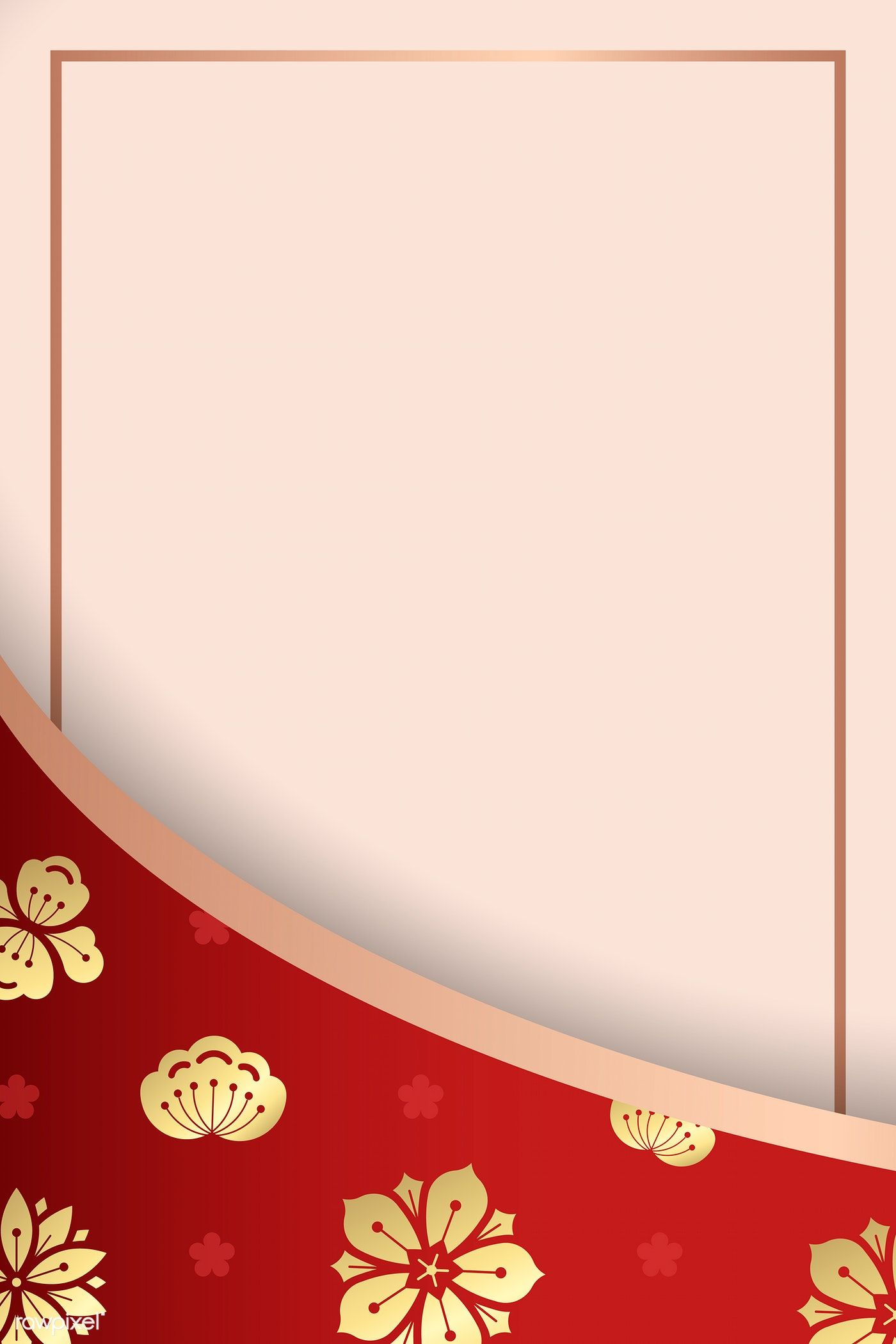 Download Premium Vector Of Happy Chinese New Year 2020 Background Vector In 2020 Happy Chinese New Year Chinese New Year 2020 Chinese New Year