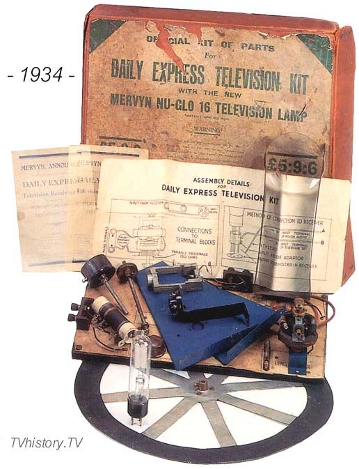 1934 Mechanical Television Kit