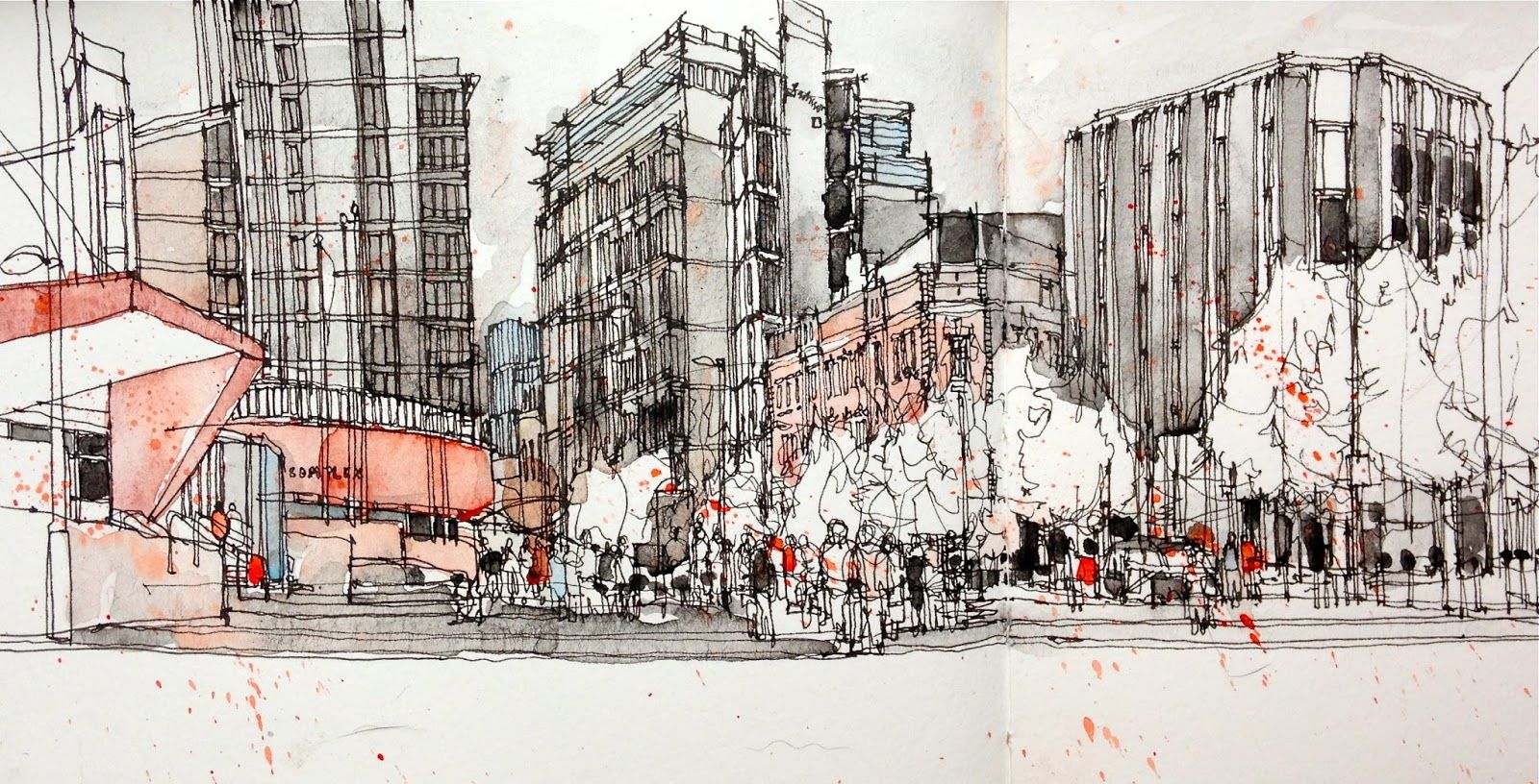 4th International Urban Sketching Symposium Recent Sketches Channeling Bcn Urban Sketching Architecture Sketch Urban Sketchers