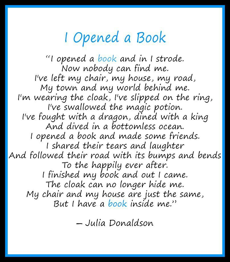 Love getting lost in a great book!