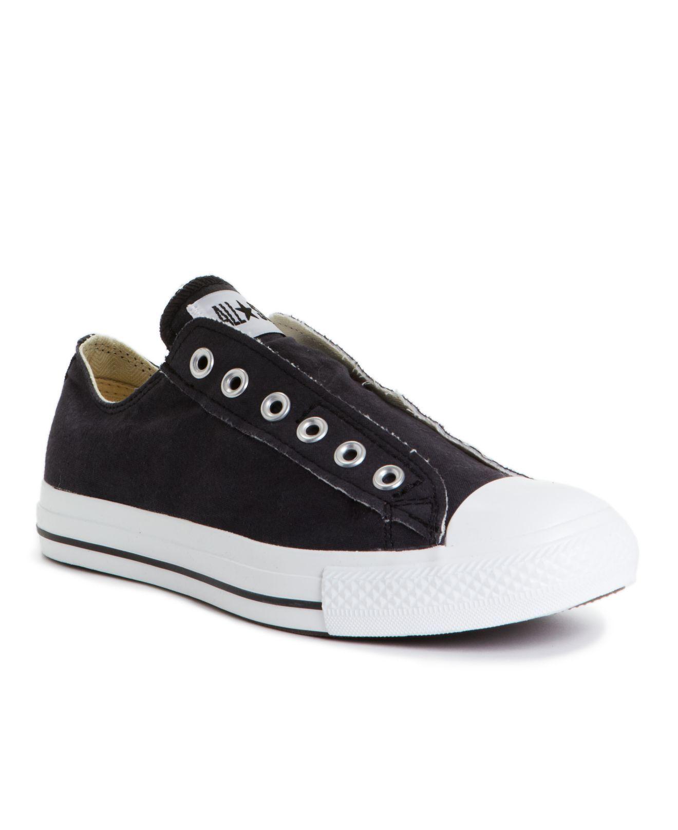 Converse Men's Shoes, Chuck Taylor Laceless Sneakers Mens