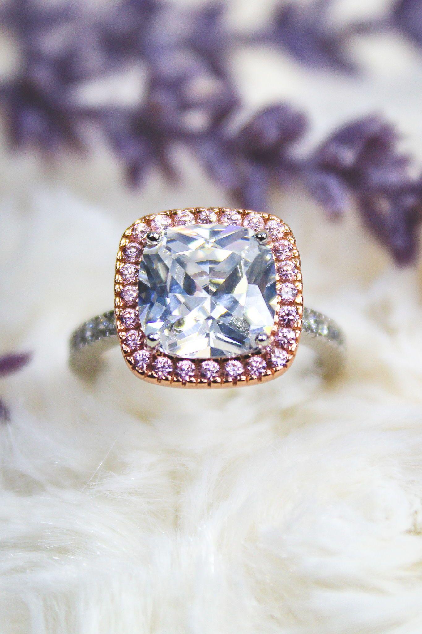 Pin On Simulated Diamond Rings
