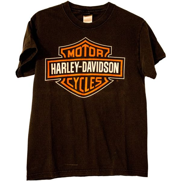 1980's Zepka Harley Davidson T-shirt ❤ liked on Polyvore featuring