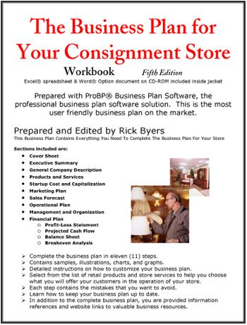 Business Plan for Your Consignment Store | Business Plans ...
