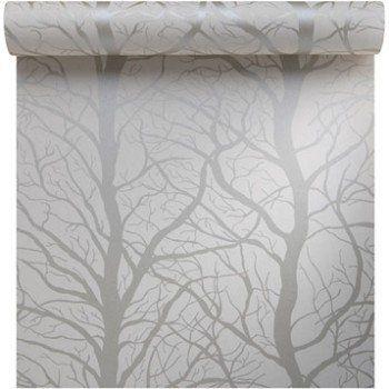 Papier Peint Intisse Foret Ecru Leroy Merlin Deco Institut