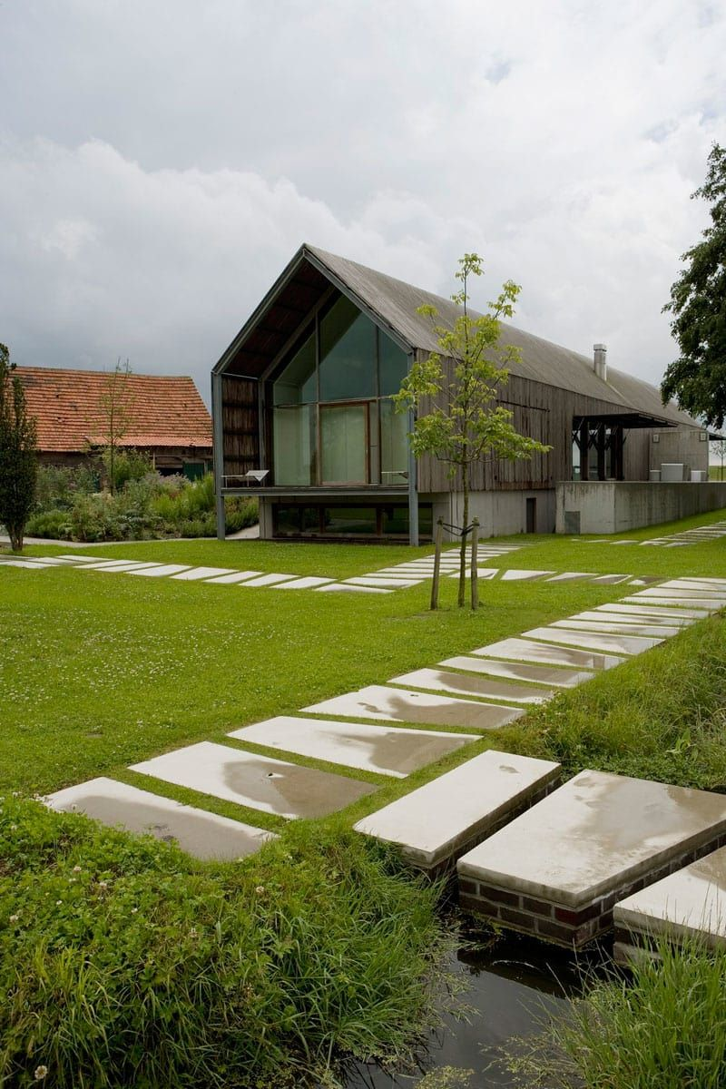 BURO II & ARCHI+I, Kris Vandamme · The Barn House Barn