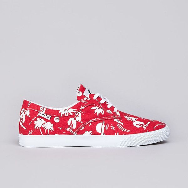 Flatspot - Huf Sutter Red Hawaiian