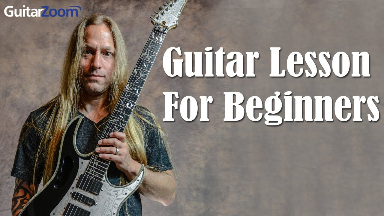 6 Note Solo Technique For Beginners Steve Stine Guitar Zoom Guitar Chords Guitar Lessons For Beginners Guitar Lessons