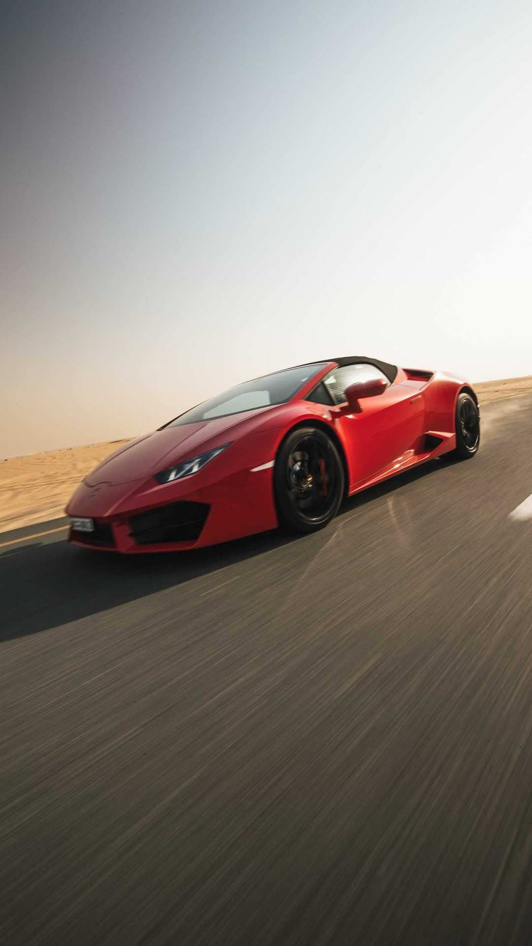 Lamborghini Aventador Red iPhone Wallpaper