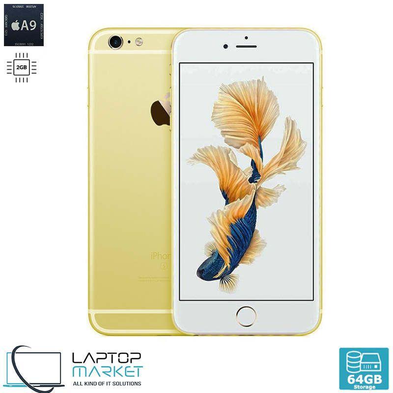 Apple Iphone 6s Plus 64gb Gold A9 Dual Core 2gb Ram 12mp Unlocked