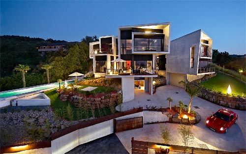 Mansiones de lujo modernas imagui for Mansiones modernas