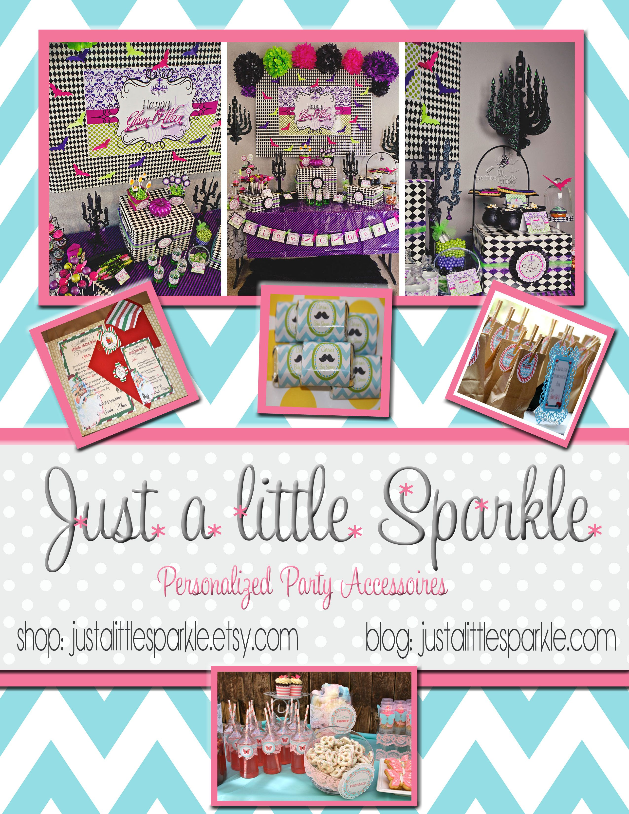 Just a little Sparkle is donating a Party theme of winner's choice in the shop: 1 set of invites (10), 1 set of Cupcake toppers (24), 1 set of Centerpiece Flags (10). This is over a $55.00 value!  https://www.facebook.com/pages/Just-a-little-Sparkle/206087286078459?group_id=0  Shop: www.justalittlesparkle.etsy.com
