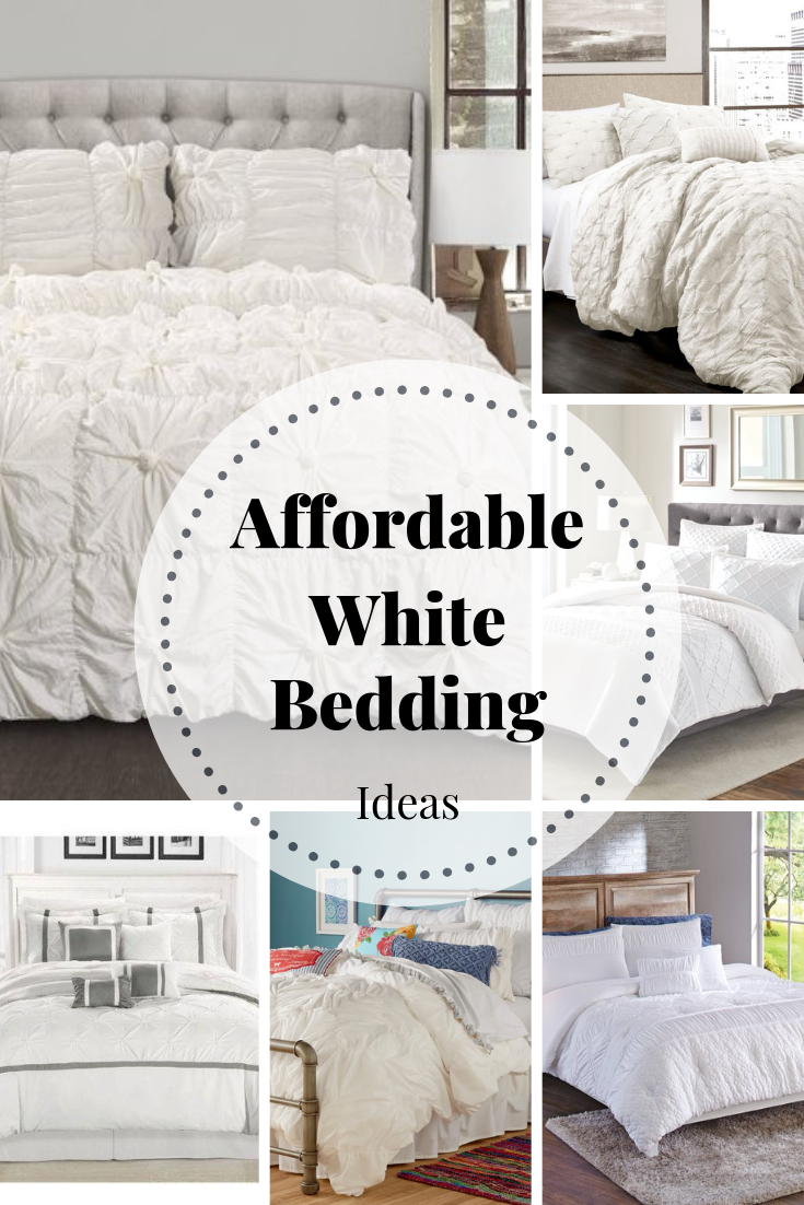 Affordable White Bedding Time To Make Your Bed White Comforter