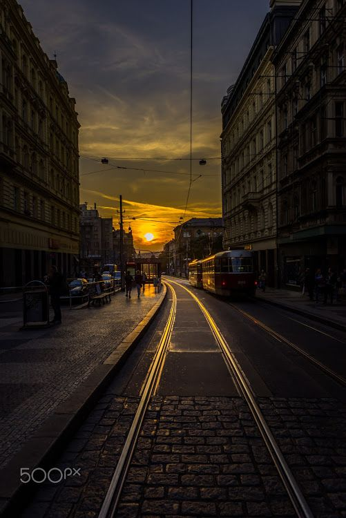 Praha - Photography by Igor Danajlovski herrfotograf.de Golden Prague - shining bright. Share with