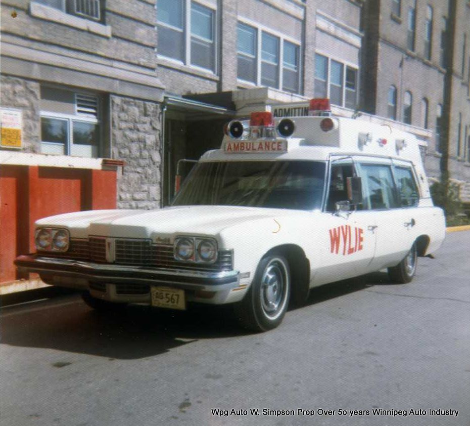 Private ambulances of the 1960's 70's and 80's which