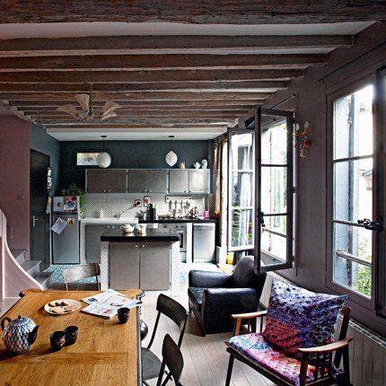 Des cuisines en longueur  inspirations Abandoned factory - idee plan maison en longueur