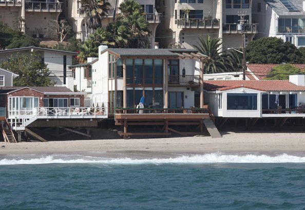 Ryan O Neal Malibu Ca S Beachfront Deck Is Loaded With Toys Including A Soft Top Longboard