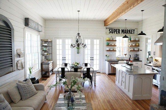 Aires de estilo nórdico en Texas | Cottage interiors, Vintage ...