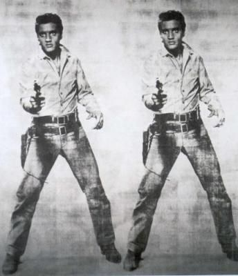 Elvis, Andy Warhol.