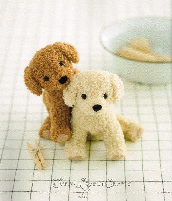 Kawaii Dogs & Cats Stuffed Animals - Japanese Sewing Pattern Book ...